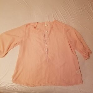 Light Pink sheer blouse 🌺